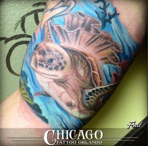 Orlando Tattoo Artist Fred Perez 1