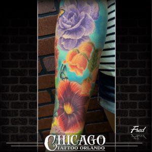 Orlando Tattoo Artist Fred Perez 2