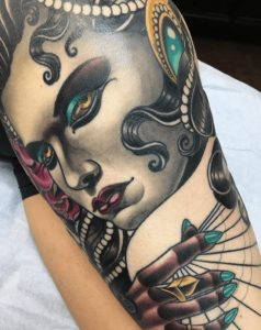Philadelphia Tattoo Artist Benji Harris 1