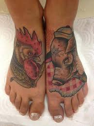 Pig and Rooster Tattoo Meaning 13