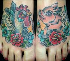 Pig and Rooster Tattoo Meaning 17