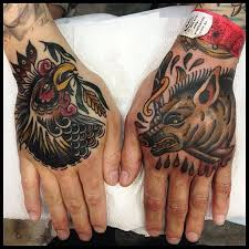 Pig and Rooster Tattoo Meaning 23