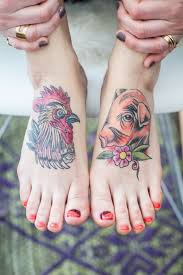 Pig and Rooster Tattoo Meaning 24