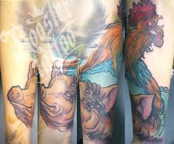 Pig and Rooster Tattoo Meaning 29