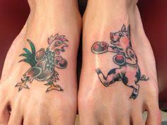 Pig and Rooster Tattoo Meaning 3