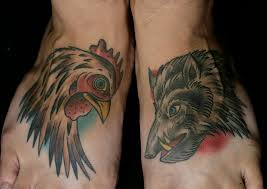 Pig and Rooster Tattoo Meaning 32