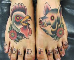 Pig and Rooster Tattoo Meaning 39
