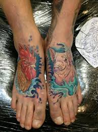 Pig and Rooster Tattoo Meaning 5