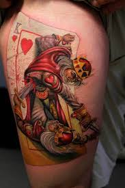 Playing Card Tattoo Meaning 12
