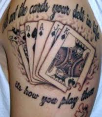Playing Card Tattoo Meaning 13