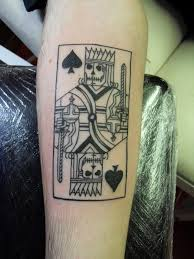 Playing Card Tattoo Meaning 21