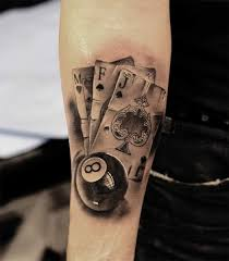 Playing Card Tattoo Meaning 36