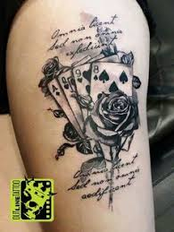 Playing Card Tattoo Meaning 43