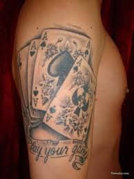 Playing Card Tattoo Meaning 45