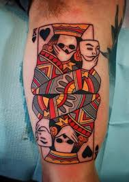 Playing Card Tattoo Meaning 48