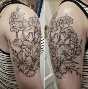 Black and Grey Tattoo Artist 16