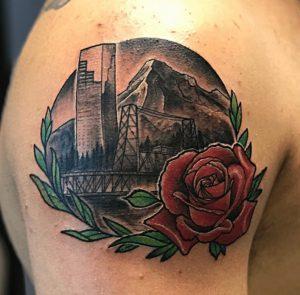 Portland Tattoo Artist 7