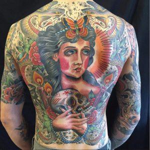 Providence Tattoo Artist Dave Peavey 2