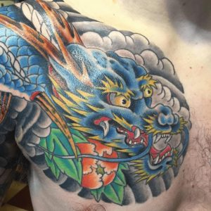 Providence Tattoo Artist Dave Peavey 3