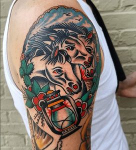 American Traditional Tattoo Artist 16
