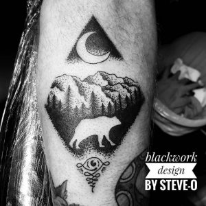 Raleigh Tattoo Artist Steve-O 4