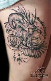 Ram Tattoo Meaning 13