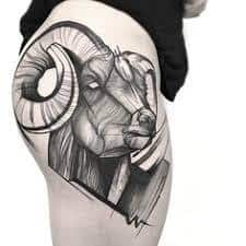 Ram Tattoo Meaning 9