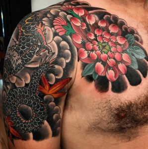 Richmond Tattoo Artist Fred Pinckard 3