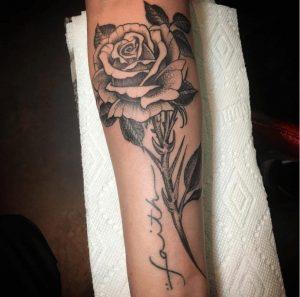 Black and Grey Tattoo Artist 49
