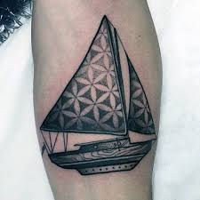 Sailboat Tattoo Meaning 10