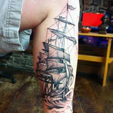 Sailboat Tattoo Meaning 15