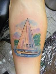 Sailboat Tattoo Meaning 26