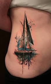 Sailboat Tattoo Meaning 33