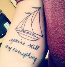 Sailboat Tattoo Meaning 38