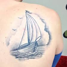 Sailboat Tattoo Meaning 43