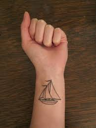 Sailboat Tattoo Meaning 9