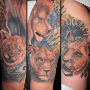 Salt Lake City Tattoo Artist Vic Back 1