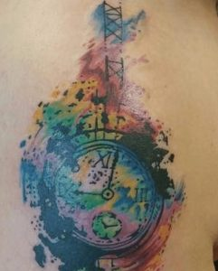 Watercolor Tattoo Artist 39