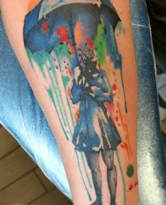Watercolor Tattoo Artist 40