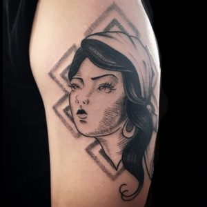Dallas Tattoo Artist 47