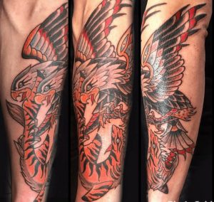 American Traditional Tattoo Artist 13