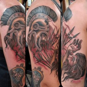 American Traditional Tattoo Artist 51