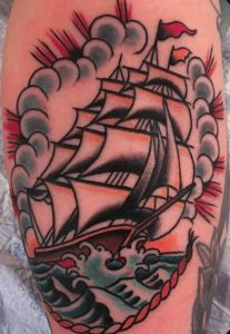 American Traditional Tattoo Artist 6