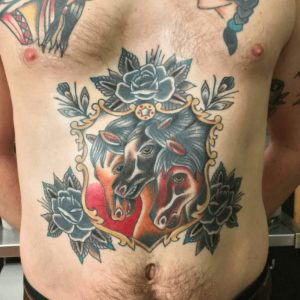 American Traditional Tattoo Artist 56