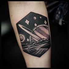 Saturn Tattoo Meaning 23