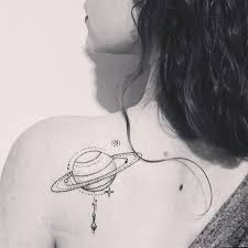 Saturn Tattoo Meaning 27