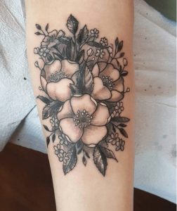 Best Floral Tattoo Artist 27