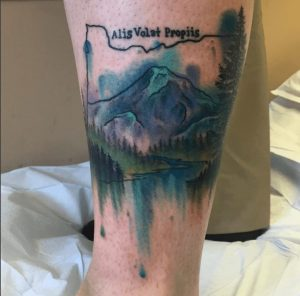 Watercolor Tattoo Artist 6