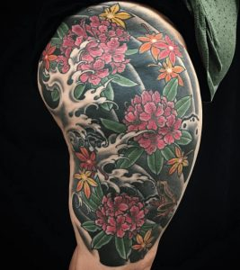 Best Floral Tattoo Artist 26