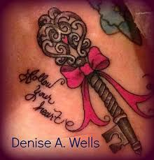 Skeleton Key Tattoo Meaning 34